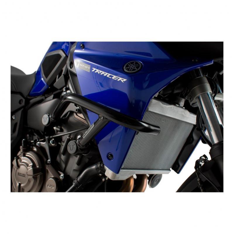 Barres de protection latérale SW-MOTECH noir Yamaha MT-07 Tracer 16-