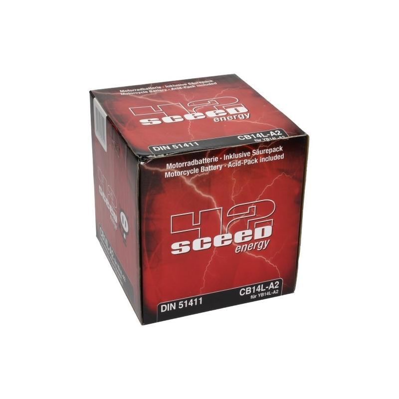 Batterie Sceed 42 YB14L-A2 12V 14Ah avec pack acide - 3