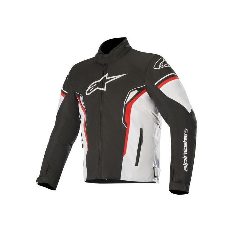 Blouson textile Alpinestars T-SP-1 Waterproof noir/blanc/rouge