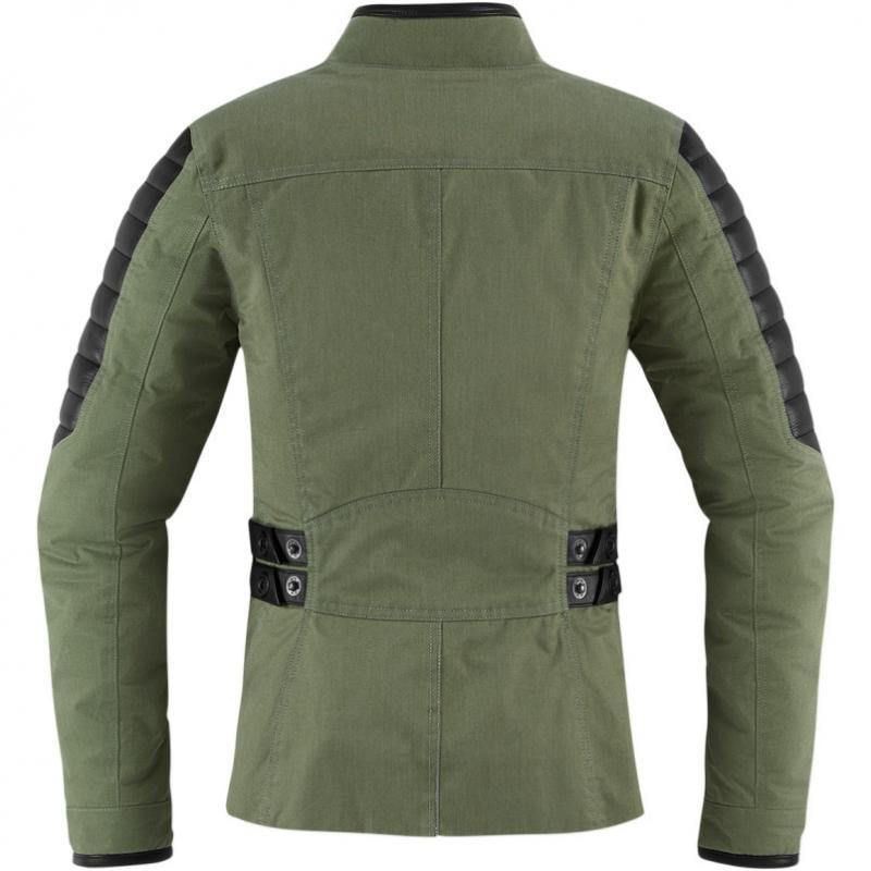 Blouson textile femme Icon 1000 MH 1000 vert - 1