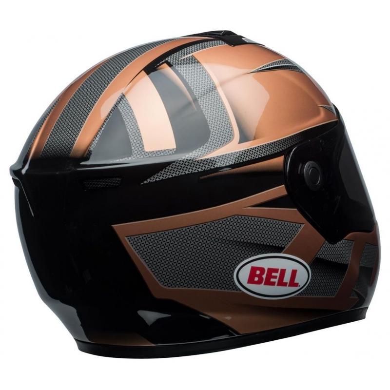 Casque intégral Bell SRT Predator copper/noir - 4