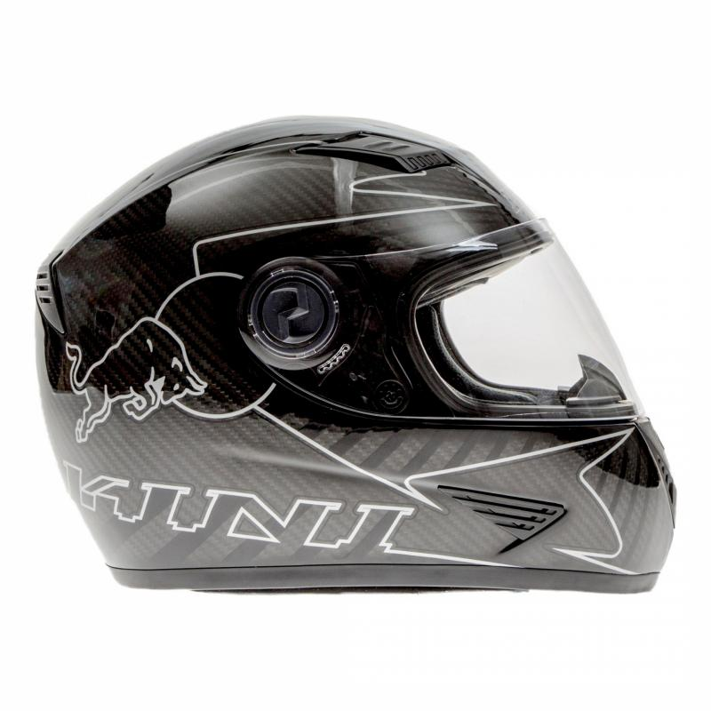 Casque intégral Kini Red Bull Road carbone - 2