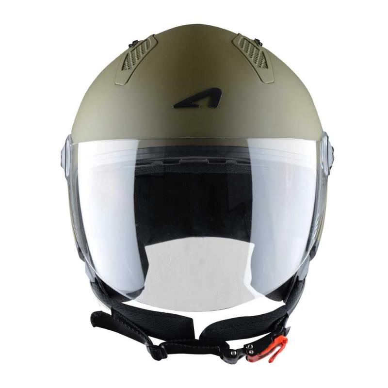 Casque Jet Astone Minijet Monocolor Army - 2