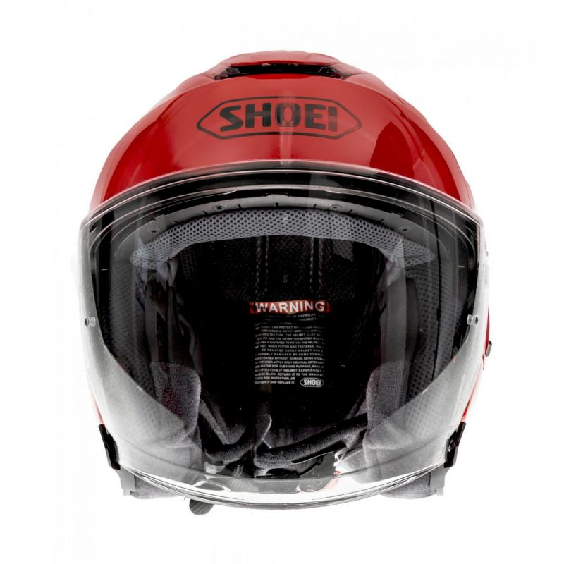 Casque jet Shoei J-Cruise rouge brillant - 3