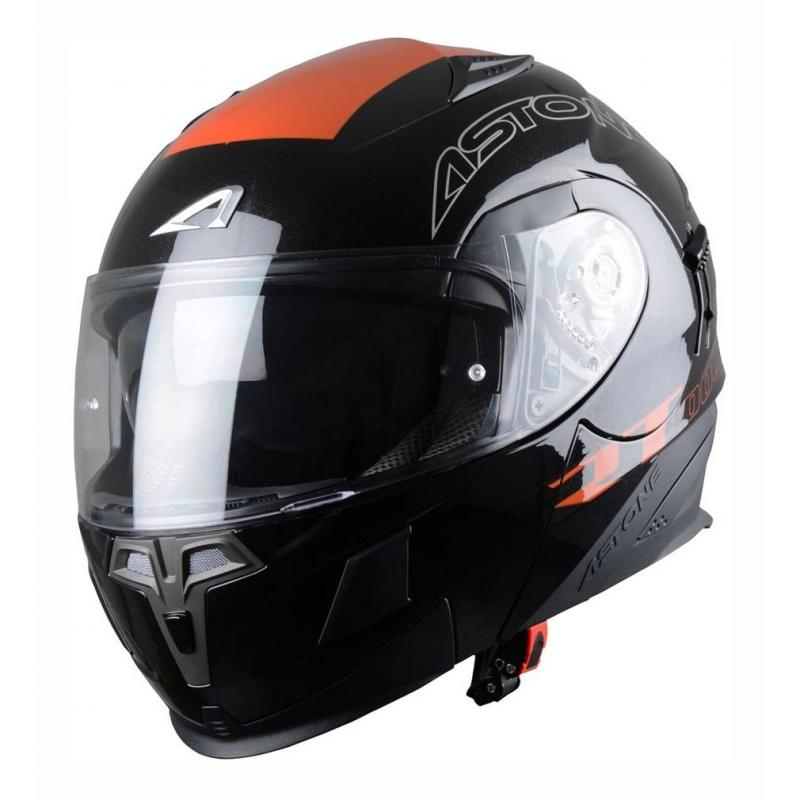 Casque Modulable Astone Rt 1000 Graphic Exclusive Arko noir/orange