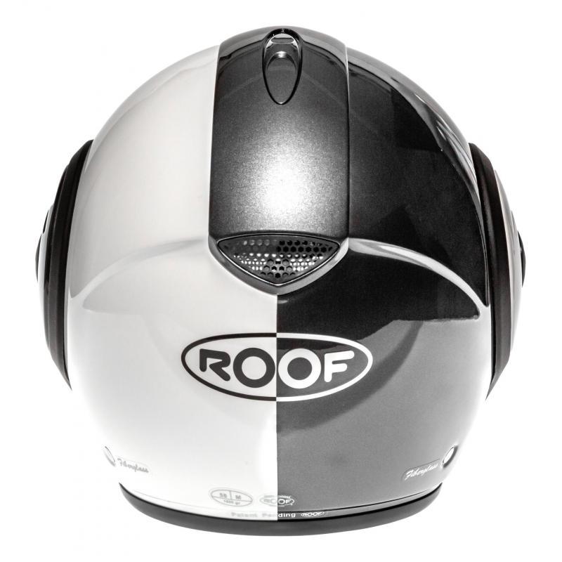 Casque modulable Roof RO9 Boxxer Face métal/blanc nacré - 6