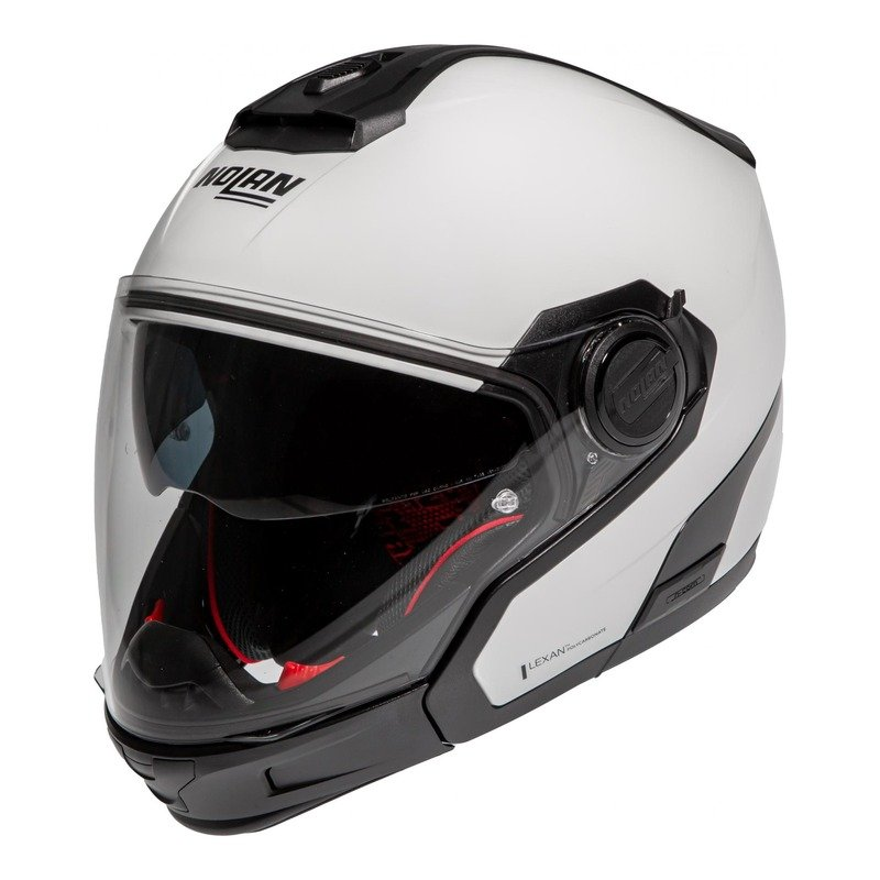 Casque trail transformable Nolan N40-5 GT SpecialN-Com Pure white