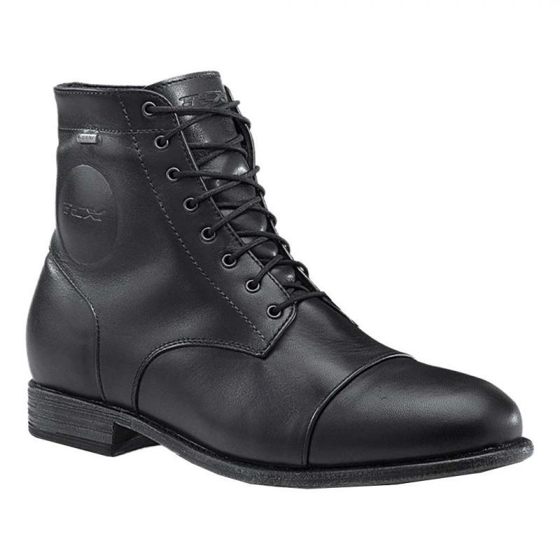 Chaussures cuir TCX Métropolitain Gore-Tex noir - 1