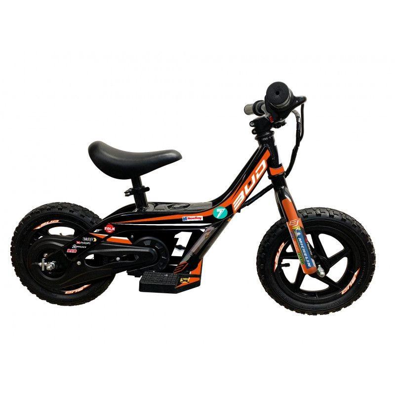 Draisienne électrique Bud Racing Mini E Push Bike 21 orange