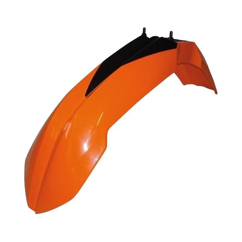Garde boue avant RTech orange pour KTM SX125 07-12