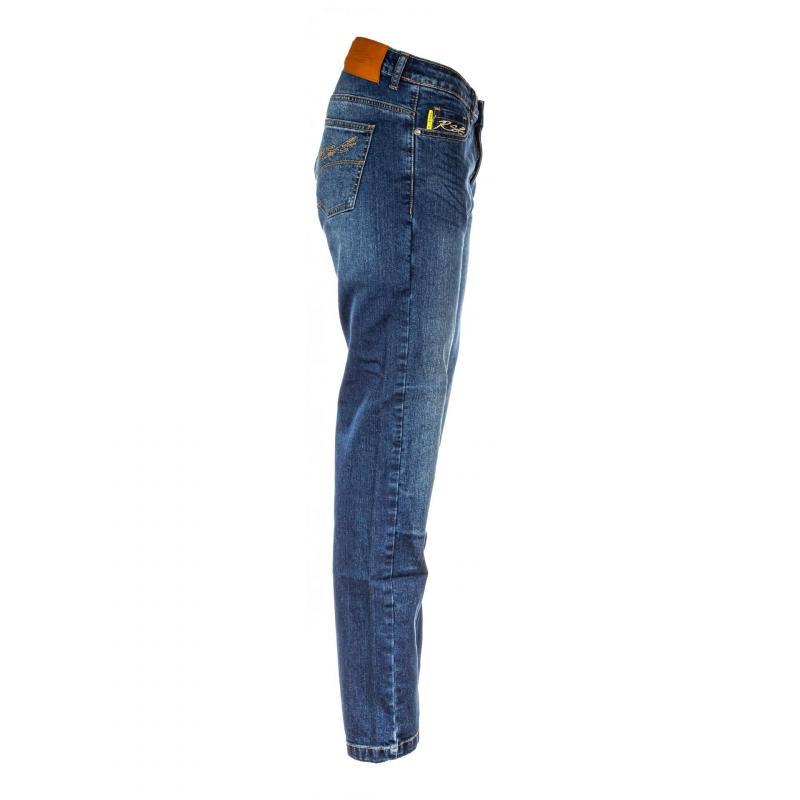 Jeans moto femme RST Ladies Aramid Skinny Fit bleu - 2