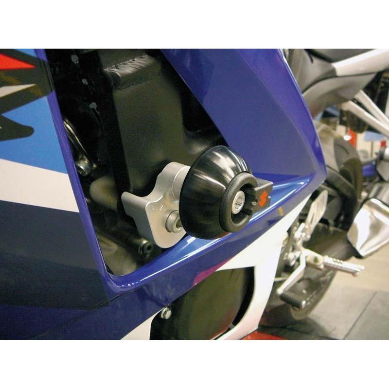 Kit fixation tampon de protection LSL Suzuki GSX-R 1000 07-08