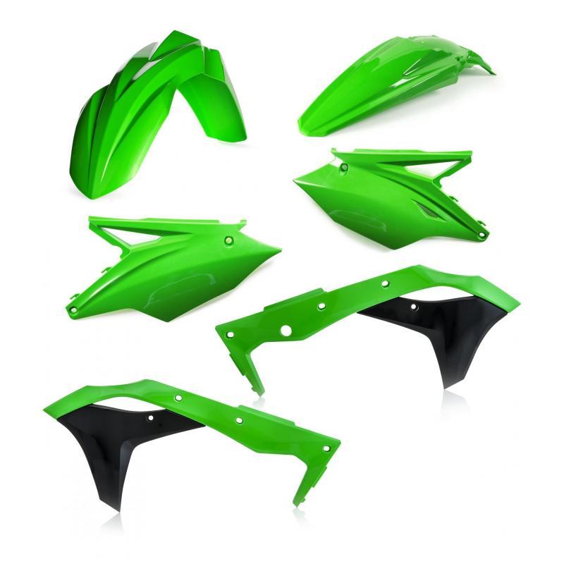 Kit plastique Acerbis Kawasaki 250 KX 2020 noir/vert (couleur origine 20)