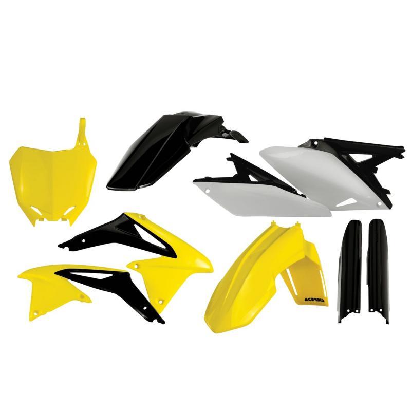 Kit plastiques complet Acerbis Suzuki 250 RMZ 10-18 réplica13