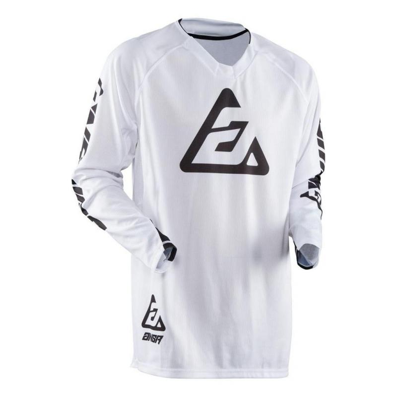 Maillot cross Answer Elite Solid blanc - 1