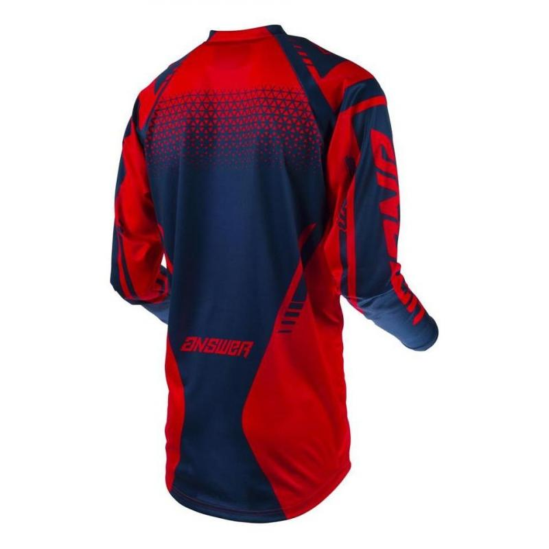 Maillot cross Answer Syncro Drift rouge/midnight - 1