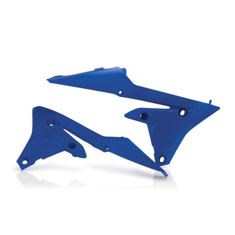 Ouïes de radiateur inférieur Acerbis Yamaha 250 YZF 14-17 bleu (paire)