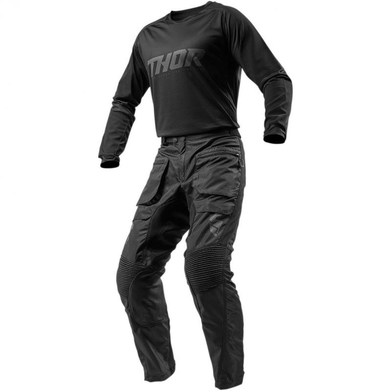 Pantalon enduro Thor Terrain noir - 3