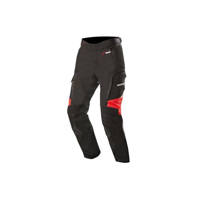 Pantalon textile Alpinestars Andes V2 Drystar Édition Honda noir/rouge