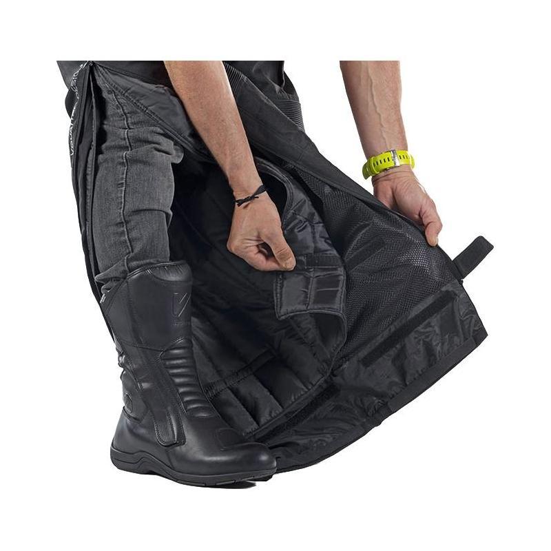 Pantalon textile V'Quattro Randy noir - 4