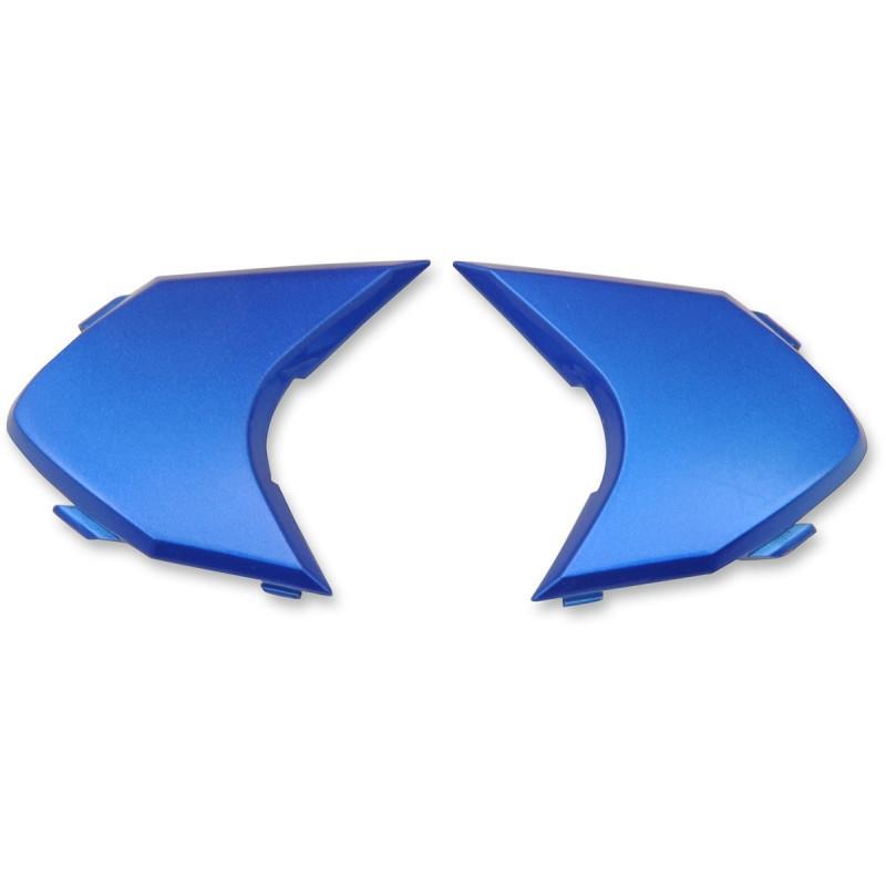 Plaques latérales Icon pour casque Variante Double Stack bleu