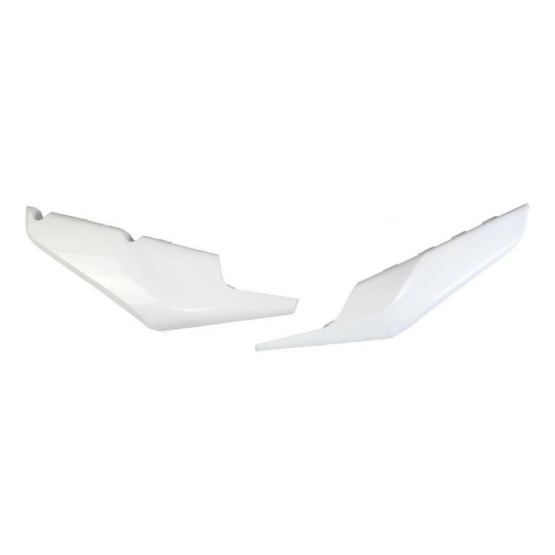 Plaques numéro latérales inférieures UFO Husqvarna 125 TC 19-21 blanc