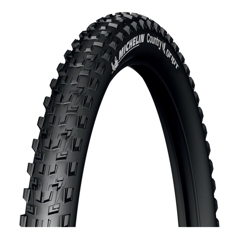 Pneu vélo VTT Michelin Country Grip'R Tubeless Ready TS noir (26 X 2.10'')