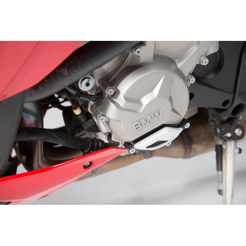 Protection de couvercle de carter moteur SW-MOTECH noir / gris BMW S1000R / RR / XR - 1