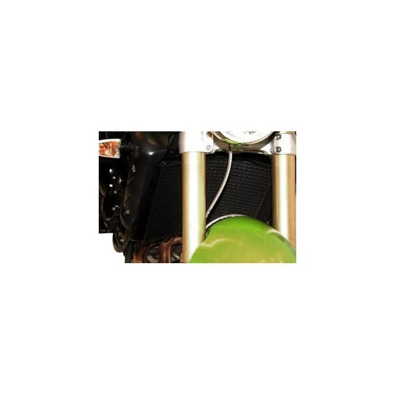 Protection de radiateur noire R&G Racing Triumph Speed Triple 06-09