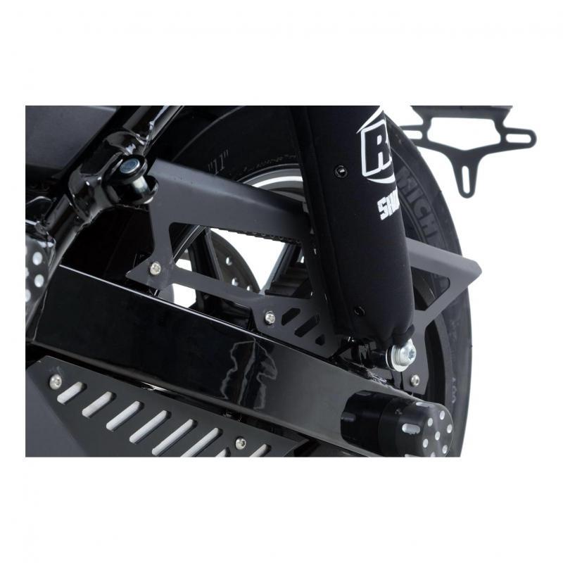 Protection supérieure de courroie R&G Racing noir Harley Davidson Street 750 15-18