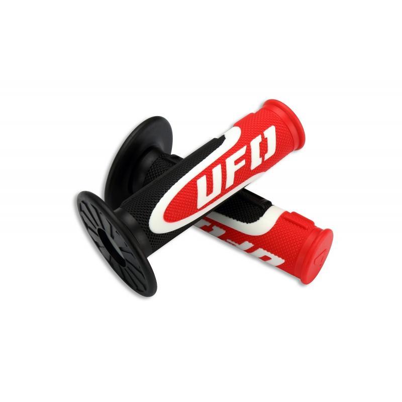 Revêtements de poignée UFO Axiom noir/rouge/blanc