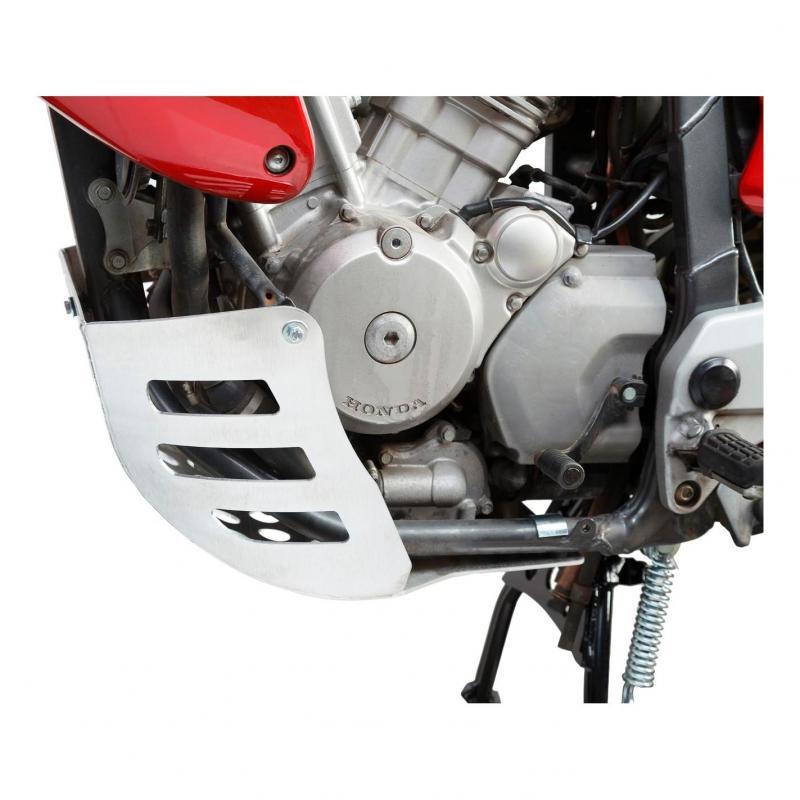 Sabot moteur SW-MOTECH gris Honda XL 650 V Transalp 00-06