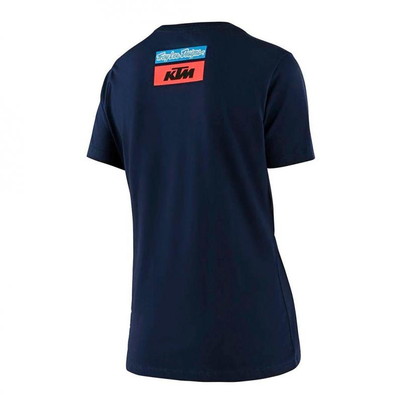 Tee-shirt femme Troy Lee Designs Team KTM 2020 navy - 1