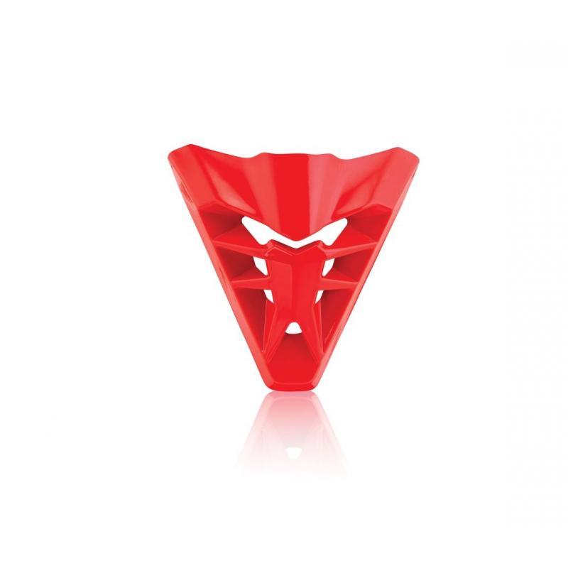 Ventilation avant Acerbis pour casque Profile 3.0 rouge