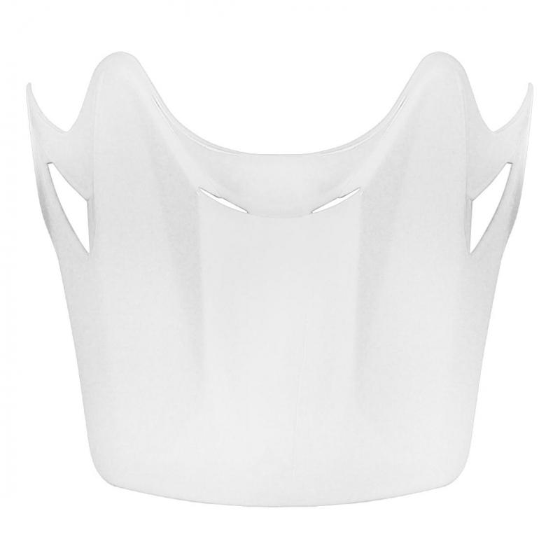Visière casque cross enfant TNT helmets X2 blanc brillant uni
