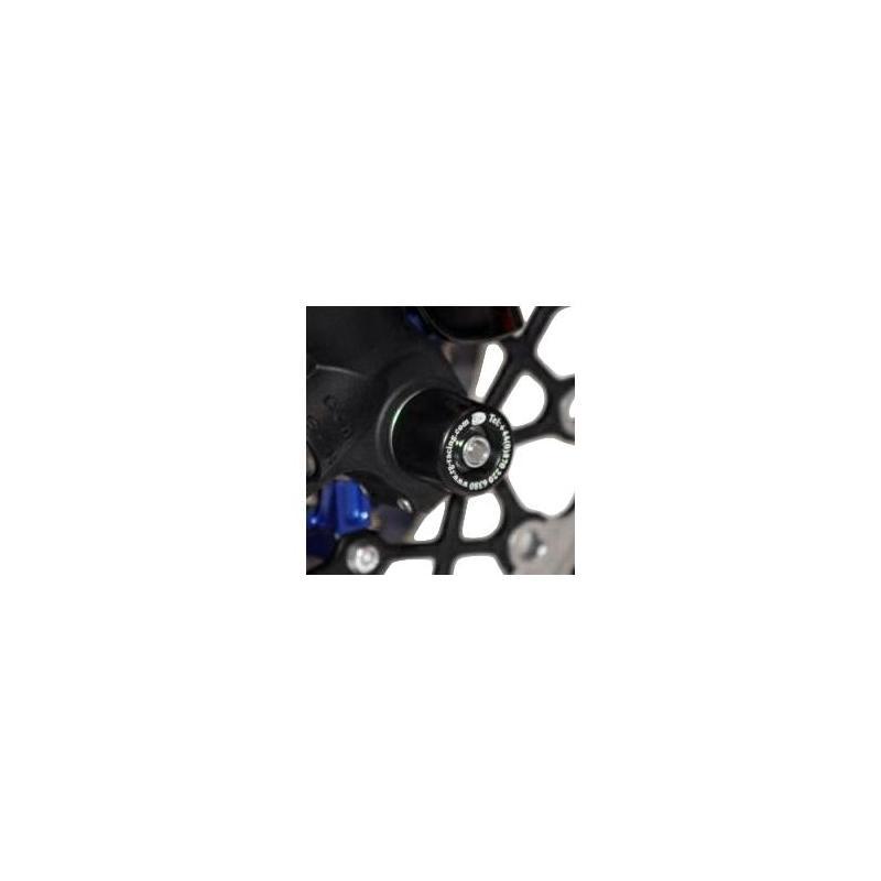 Tampons de protection de fourche R&G Racing noirs Suzuki GSX-R 600 06-10
