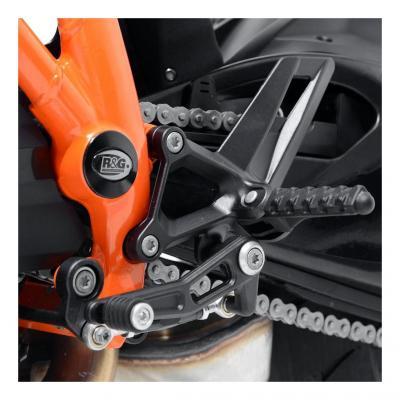 Inserts de cadre droit et gauche R&G Racing noir KTM 1290 Super Adventure 16-18