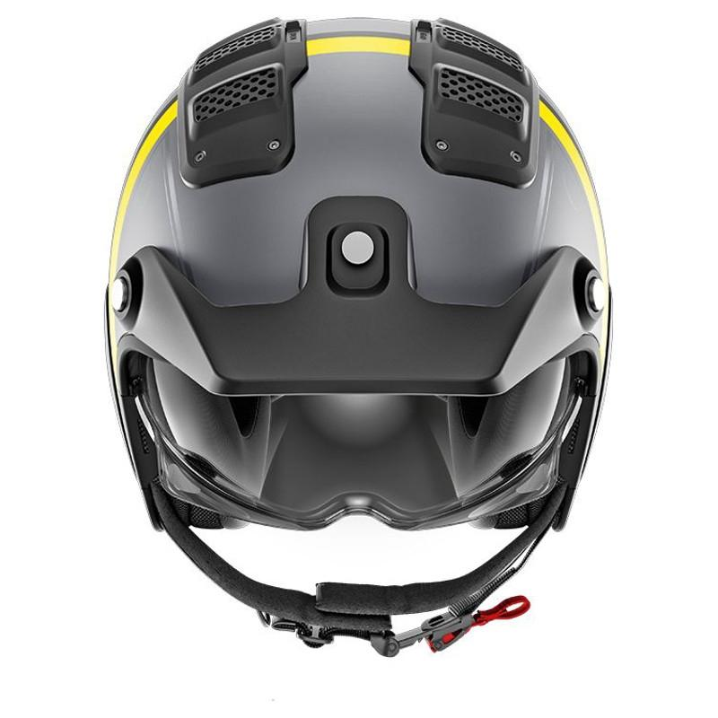 Casque jet Shark X-DRAK TERRENCE MAT anthracite/jaune - 2
