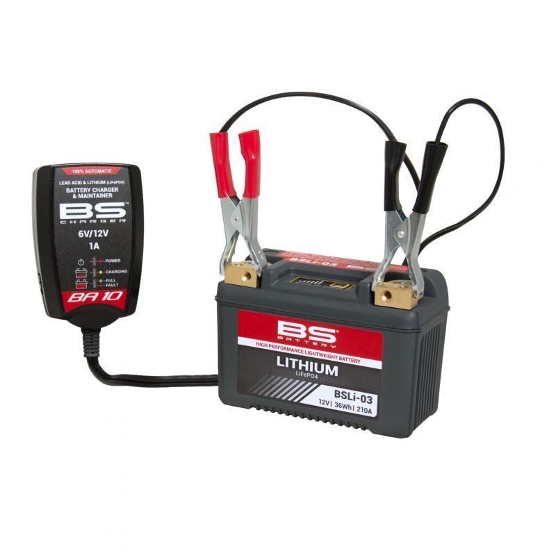 Chargeur BS Battery BA10 6V / 12V - 5
