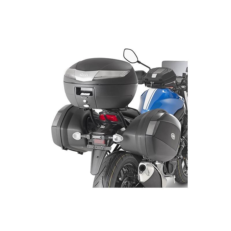 Supports de valises latérales Monokey Side Givi PLX Suzuki 650 SV 16-18
