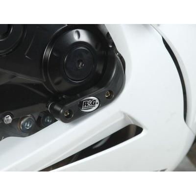 Slider moteur droit R&G Racing noir Suzuki GSX-R 600 11-18