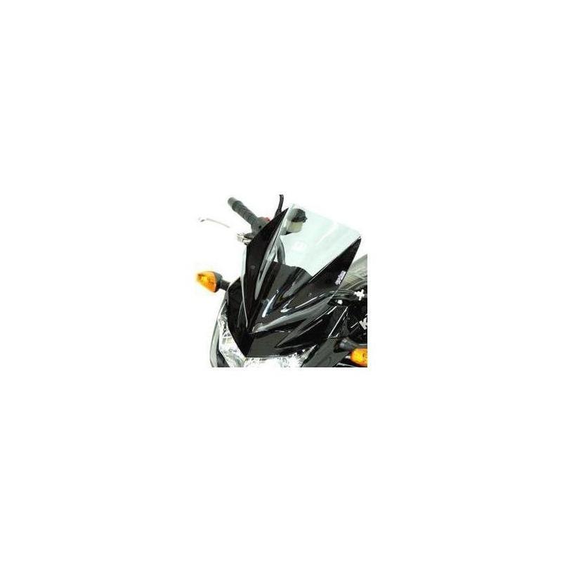 Saute-vent Bullster haute protection 35,5 cm fumé noir Kawasaki Z750 07-12