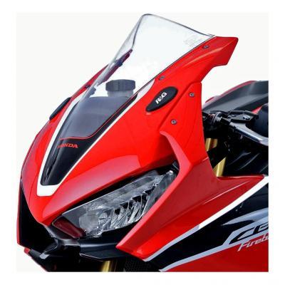 Caches orifices de rétroviseurs R&G Racing noirs Honda CBR 1000 RR 17-18