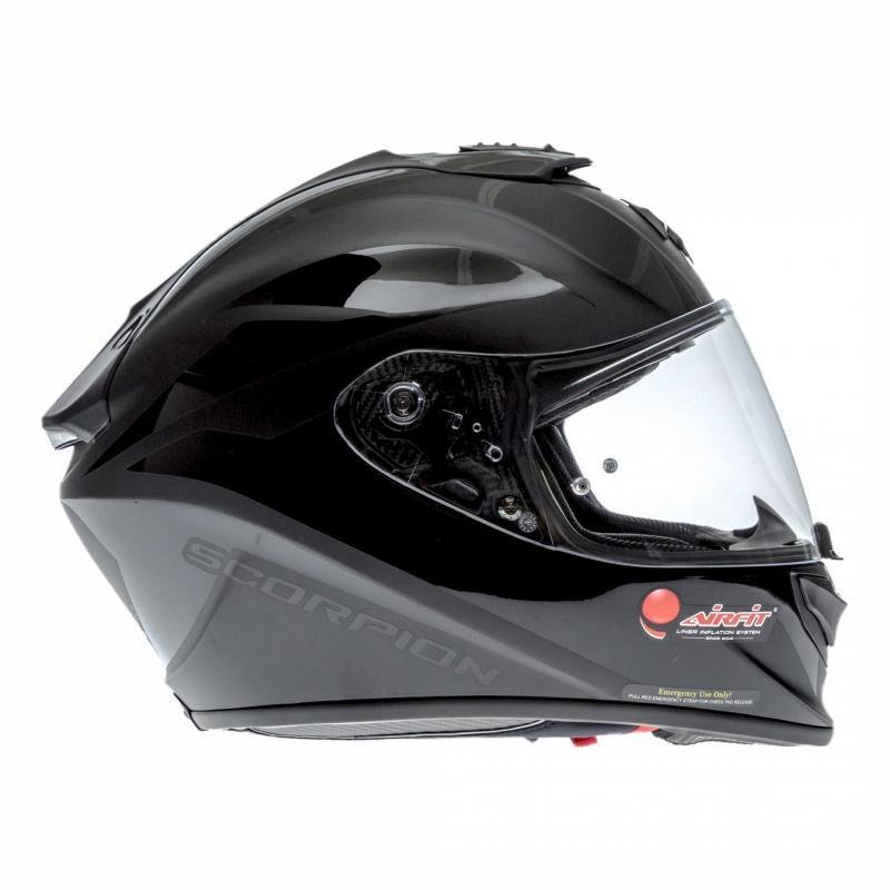 Casque intégral Scorpion EXO-1400 AIR Freeway II noir mat - 2