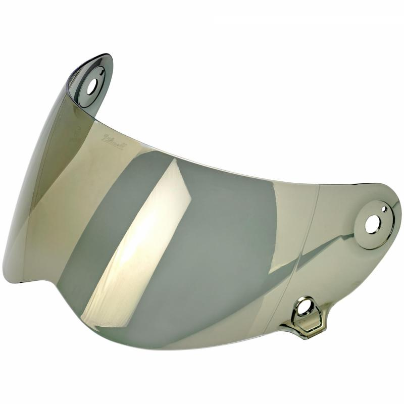 Ecran de casque antibuée Biltwell Lane Splitter iridium or