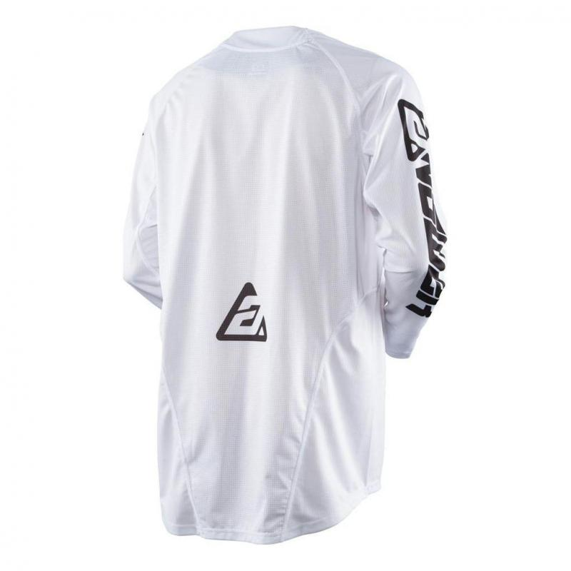 Maillot cross Answer Elite Solid blanc - 2