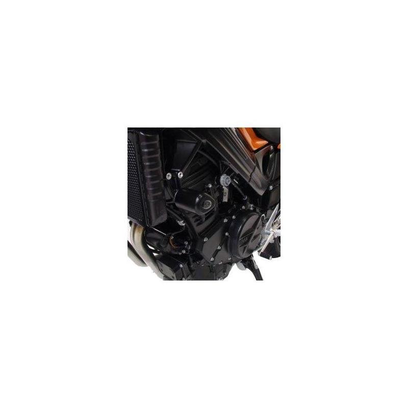 Tampons de protection R&G Racing Aero noir BMW F 800 R 10-14