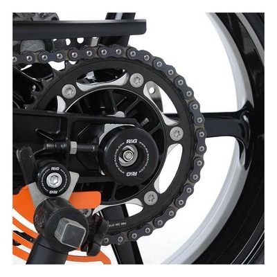 Tampons de bras oscillant R&G Racing noir Husqvarna Vitpilen 701 18-20