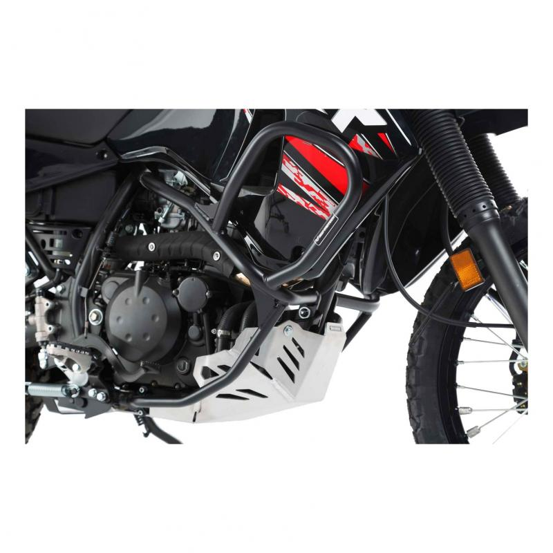 Barres de protection latérale SW-MOTECH noir Kawasaki KLR 650 08-