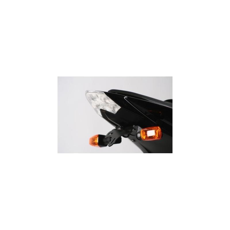 Support de plaque d'immatriculation R&G Racing noir Kawasaki Z 750 07-13